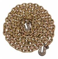 Campbell Chain 5/16 in. Oval Link Carbon Steel Chain 5/16 in. Dia. x 20 ft. L - Case Of: 1; - Count of: 1