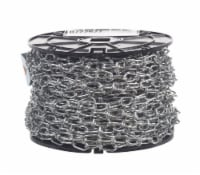 Campbell Chain No. 1 Double Loop Carbon Steel Chain 1/8 in. Dia. x 125 ft. L - Case Of: 1 - Count of: 1