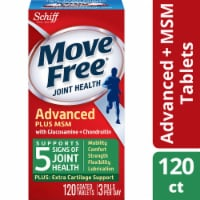 Move Free Advanced Plus MSM Joint Supplement with Extra Cartilage Support Tablets