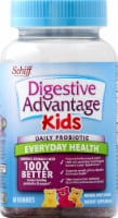 Schiff Digestive Advantage Kids Daily Probiotic Fruit Flavored Gummies 60 Count