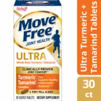 Move Free Ultra Turmeric + Tamarind Coated Dietary Supplement Tablets