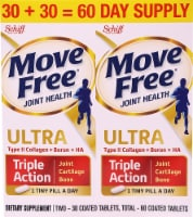 Schiff Move Free Ultra Joint Health Triple Action Coated Tablets