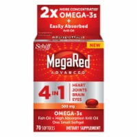 Schiff MegaRed 4 in 1 Omega-3s Value Pack Softgels 500mg