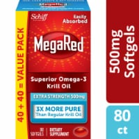 Schiff MegaRed Superior Omega-3 Krill Oil Softgels 500mg