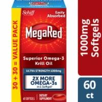 Schiff MegaRed Superior Omega-3 Krill Oil 1000mg