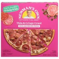 Newman's Own Sicilian Recipe Thin & Crispy Frozen Pizza