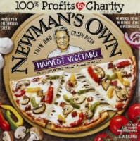 Newman's Own Thins and Crispy Harvest Vegetable Pizza