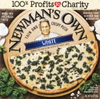 Newman's Own Thin and Crispy White Pizza with Spinach