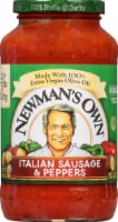 Newman's Own Italian Sausage & Peppers Pasta Sauce