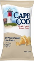 Cape Cod Aged White Cheddar & Sour Cream Kettle Cooked Potato Chips