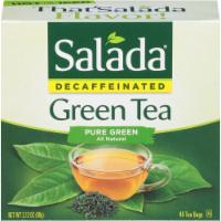 Salada Decaffeinated Pure Green Tea Bags