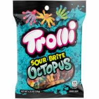 Trolli Sour Brite Octopus Gummi Candy - 4.25 oz