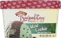 Turkey Hill Trio'politan Mint Cookie Ice Cream - 3 pt