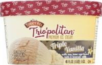 Turkey Hill® Trio'politan Triple Vanilla Ice Cream - 48 fl oz