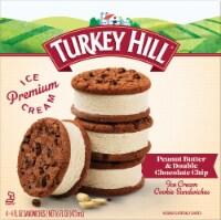 Turkey Hill Peanut Butter & Chocolate Chip Ice Cream Sandwiches