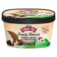 Turkey Hill All Natural Vanilla Bean & Chocolate Ice Cream
