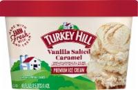Turkey Hill Vanilla Salted Caramel Ice Cream - 48 fl oz