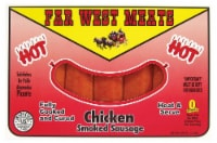 Far West Meats Hot Chicken Smoked Sausage