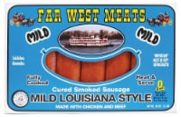 Far West Meats Mild Louisiana Smoked Sausage