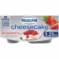 Philadelphia Strawberry Cheesecake Cups