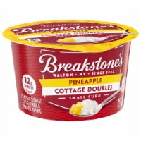 Breakstone's Cottage Doubles Pineapple Cottage Cheese