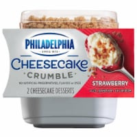 Philadelphia Strawberry Cheesecake Crumble Desserts