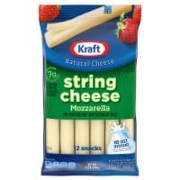 Kraft Mozzarella String Cheese Sticks 12 Count