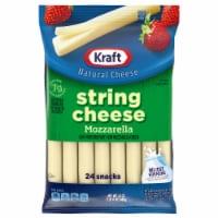 Kraft Part-Skim Mozzarella String Cheese - 24 ct / 1 oz