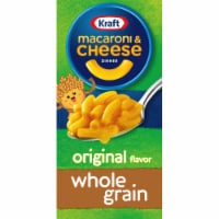 Kraft Whole Grain Original Macaroni & Cheese Dinner