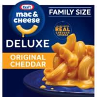 Kraft Original Cheddar Macaroni & Cheese Deluxe Family Size