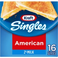 Kraft Singles 2% Milk Reduced Fat American Cheese Slices
