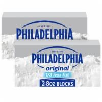 Philadelphia Neufchatel Cheese - 2 ct / 8 oz