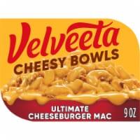 Velveeta Cheesy Bowls Ultimate Cheeseburger Mac