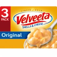 Velveeta Original Shells & Cheese Dinner 3 Count