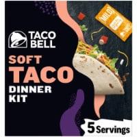 Taco Bell Soft Tortilla Taco Dinner Kit - 14.6 oz