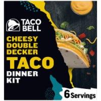 Taco Bell Cheesy Double Decker Taco Dinner Kit
