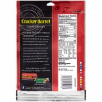 Cracker Barrel Rich & Bold Extra Sharp White Cheddar Cheese Sticks