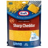 Kraft Finely Shredded Sharp Cheddar Cheese