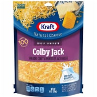 Kraft Finely Shredded Colby and Monterey Jack Cheese