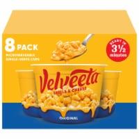 Velveeta Original Flavor Shells & Cheese Cups - 8 ct / 2.39 oz