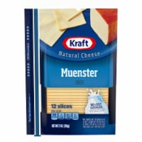 Kraft Muenster Natural Cheese Slices