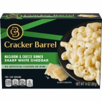 Cracker Barrel Sharp White Cheddar Macaroni & Cheese Dinner