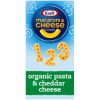Kraft Organic Macaroni & Cheese 123s