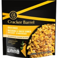 Cracker Barrel Oven Baked Sharp Cheddar Macaroni & Cheese Dinner