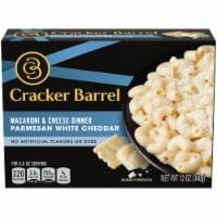 Cracker Barrel Parmesan White Cheddar Macaroni & Cheese Dinner