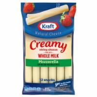 Kraft Natural Cheese Creamy Whole Milk Mozzarella String Cheese