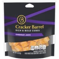 Cracker Barrel Cheddar Jack Cheese Cubes - 2 oz