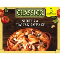 Classico Shells & Italian Sausage Pasta Bake Frozen Meal