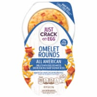 Just Crack An Egg Omelet Rounds All American Egg Bites - 2 ct / 4.6 oz