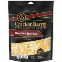 Cracker Barrel Double Cheddar Shredded Cheese - 8 oz